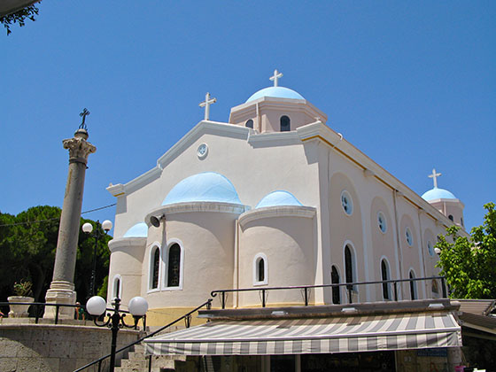 Church of Aghia Paraskevi in Kos   Paraskevi means Friday in Greek, she was born that day