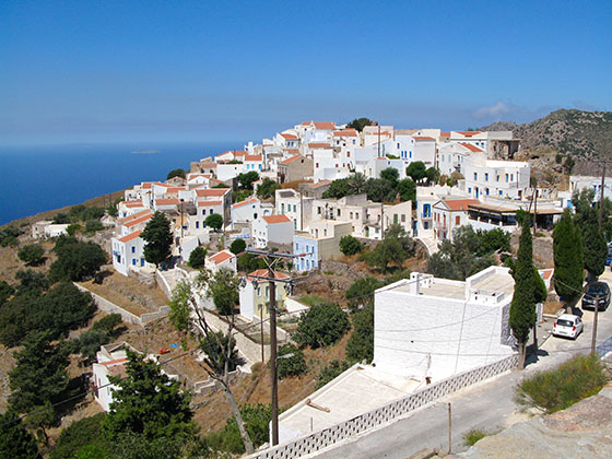 Nikia Village on Nissyros island