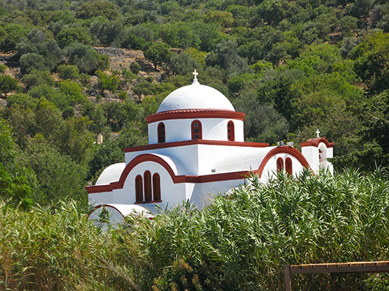 Church in Mandraki on Nissyros