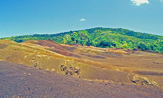 Seven Coloured Earth in Chamarel   1992