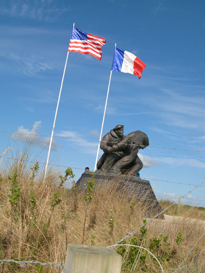 U.S. Navy Memorial at Utah Beach