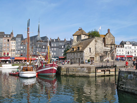 The old port of Honfleur